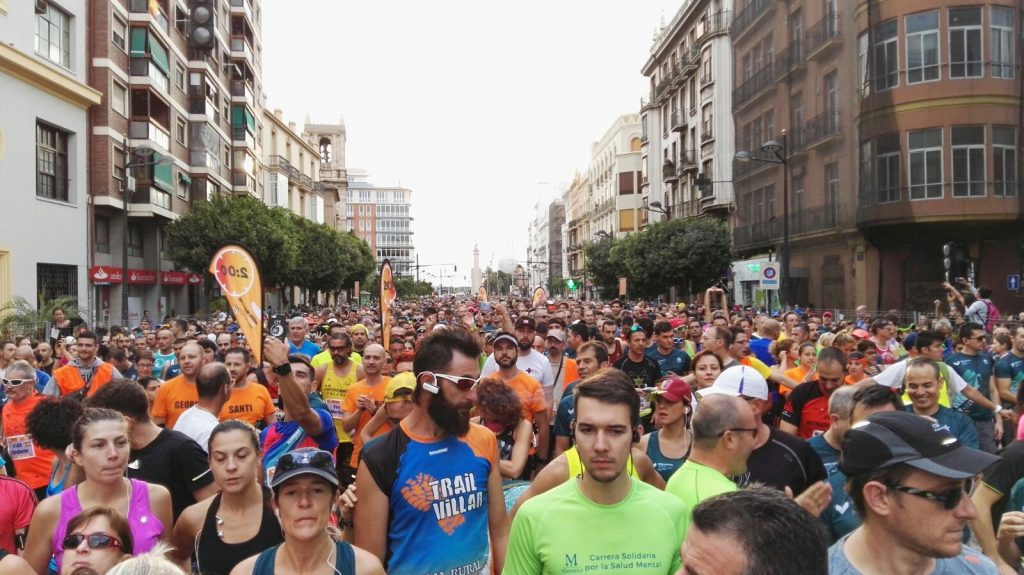 Valencia, la media maratón de los records
