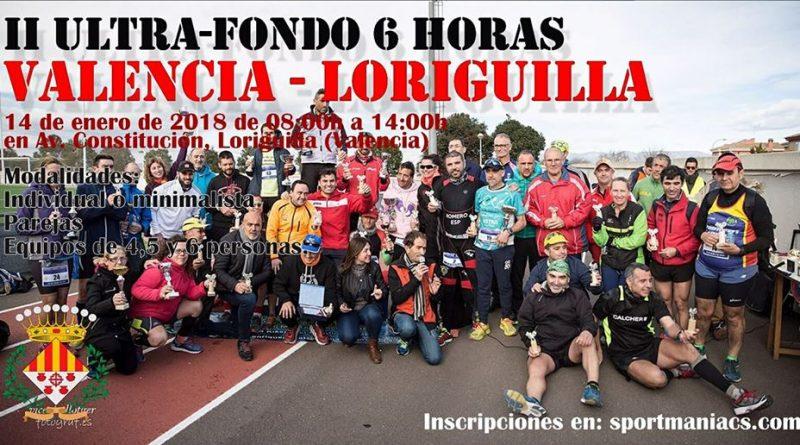 II Ultra-Fondo 6 Horas Valencia-Loriguilla 2018