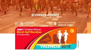 IAAF/Trinidad Alfonso Campeonato del Mundo de Media Maratón Valencia 2018 @ València | Comunidad Valenciana | España