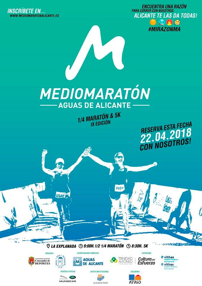 IX Medio Maratón Aguas de Alicante 2018