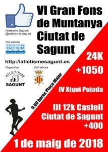 VI Gran Fons de Muntanya Ciutat de Sagunt 2018 @ Sagunt | Comunidad Valenciana | España