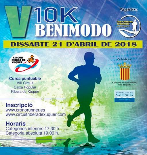 Carrera 10K Benimodo 2018