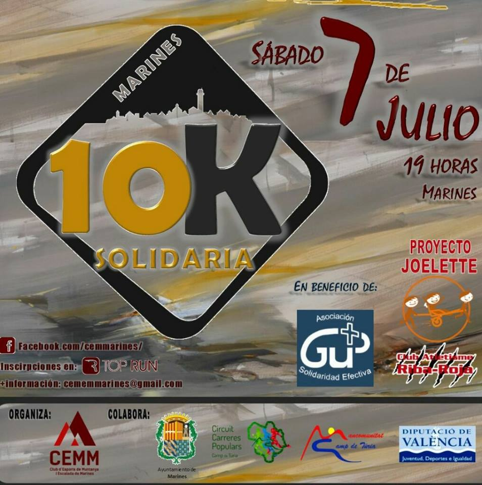 10K Marines Solidaria 2018