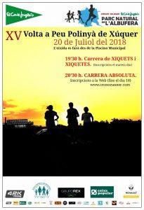 Volta a Peu Polinyà de Xúquer 2018 @ Piscina Municipal - Polinyà de Xúquer | Poliñá de Júcar | Comunidad Valenciana | España