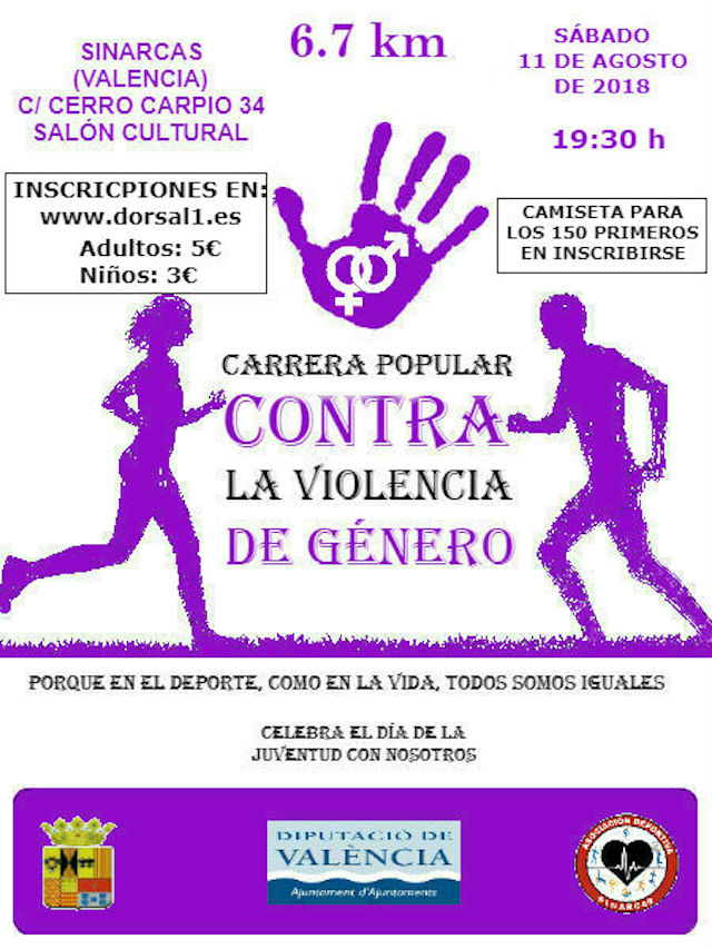 Carrera Popular Sinarcas 2018
