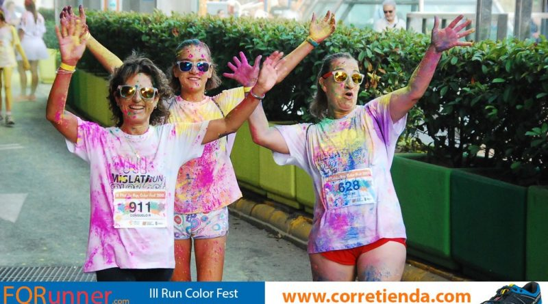 Mislata corre de color especial – Fotos III Run Color Fest
