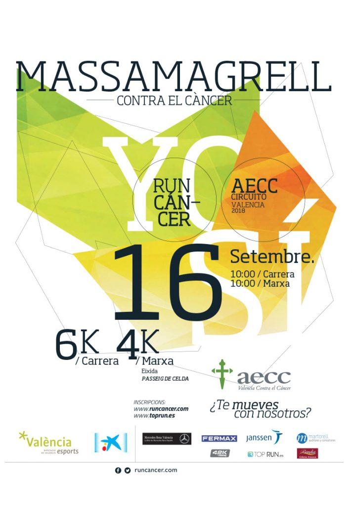 Massamagrell contra el cáncer 2018 RunCáncer Valencia