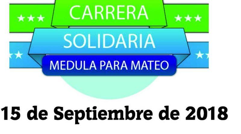 Carrera Solidaria Médula para Mateo 2018