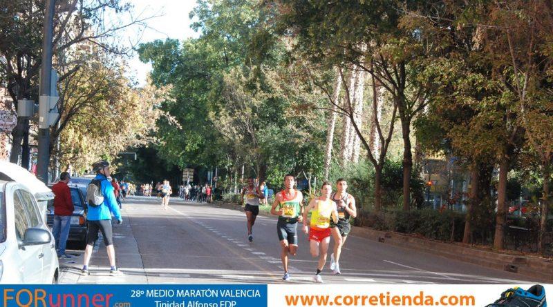 Los españoles también vuelan en la Media Maratón de Valencia 2018