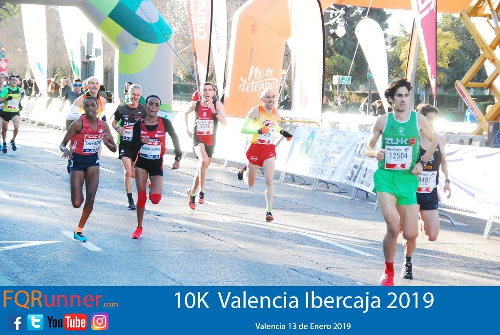 Martín Fiz logra en Valencia el nuevo récord del mundo en 10K M55