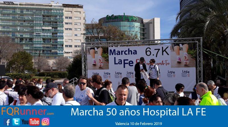 Marcha solidaria 50 años Hospital La Fe Valencia