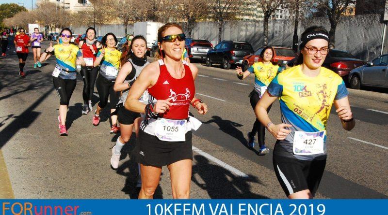 Fotos 10KFem Valencia día de la mujer deportista 2019