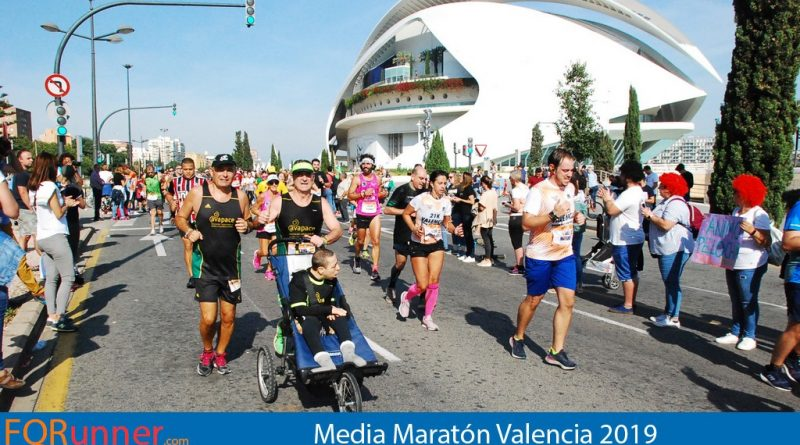 Fotos Media Maratón Valencia 2019
