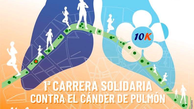 Carrera solidaria contra el Cáncer de Pulmón Valencia 2019