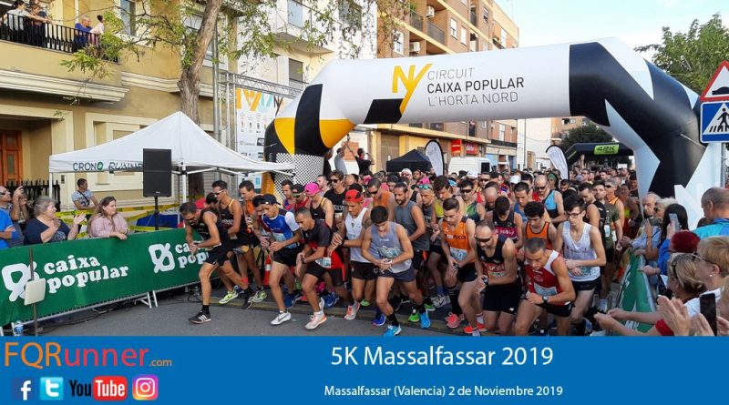 Fotos y Video Carrera 5k Massalfassar 2019