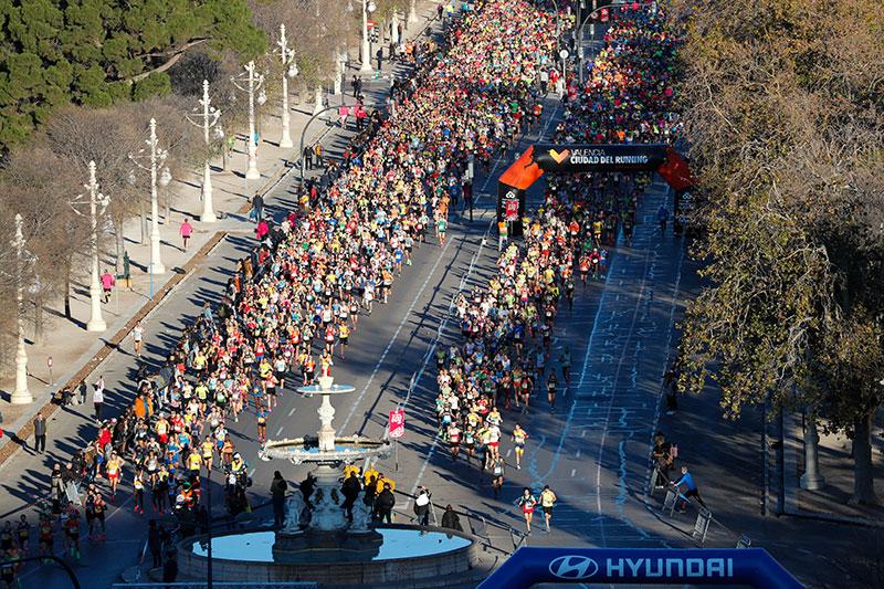 Record de corredores populares en la 10K Valencia Ibercaja 2020